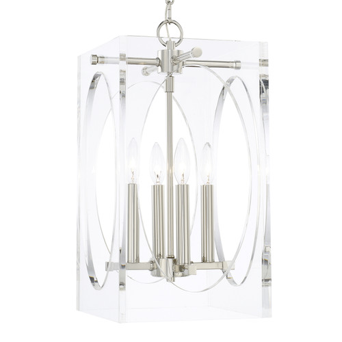 Crystorama Drake 4 Light Chandelier