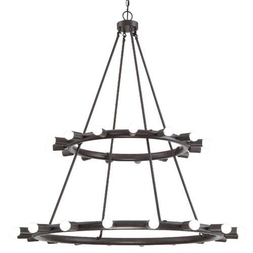 Dakota Two-Tiered Chandelier