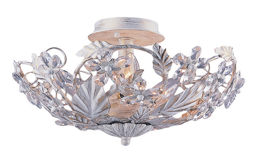 Crystorama Paris Market 6 Light Semi-Flush