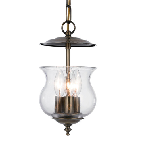 Crystorama Ascott 3 Light Lantern