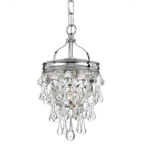 Crystorama Calypso 1 Mini Chandelier