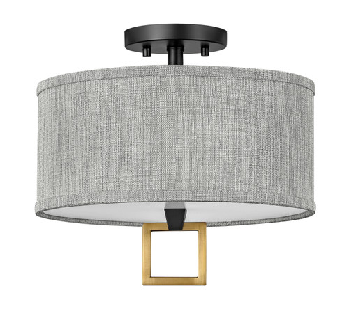 Hinkley Link Square Semi-flush Mount