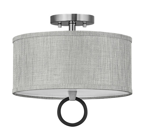 Hinkley Link Circle Semi-flush Mount
