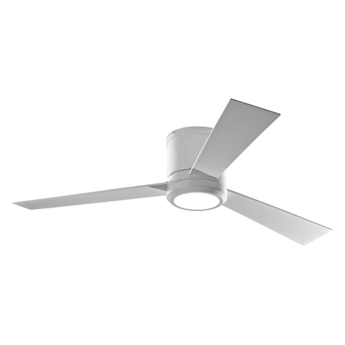 Clarity Max Hugger Ceiling Fan With Light