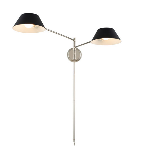 Bruno Plug-In Wall Sconce
