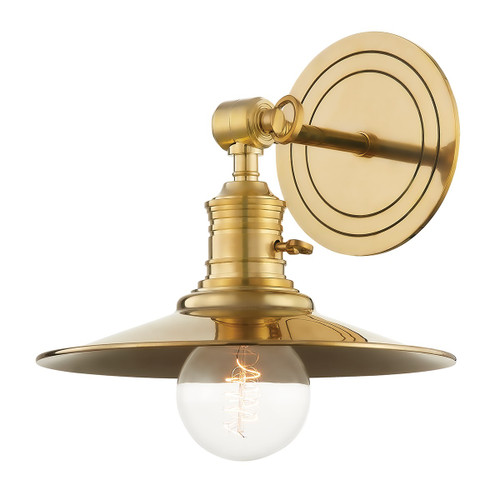 Garden City Flared Wall Sconce