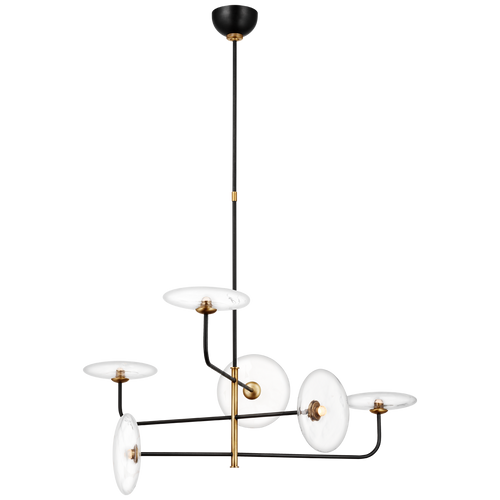 Calvino Large Arched Chandelier