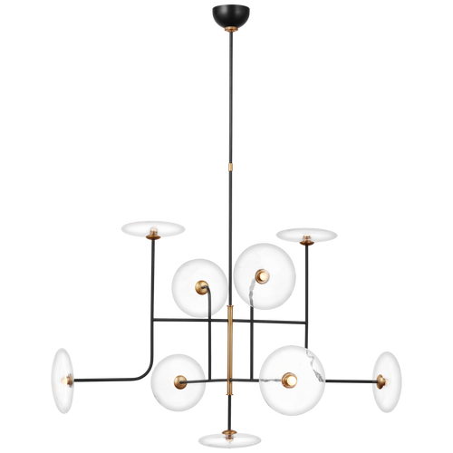 Calvino X-Large Arched Chandelier