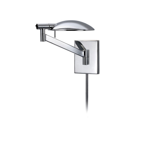 Shown in Polished Chrome with Polished Chrome Metal Shade