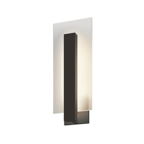 Shown in Textured Bronze with Clear Shade