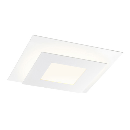 Shown in Textured White with Textured White Aluminum Shade