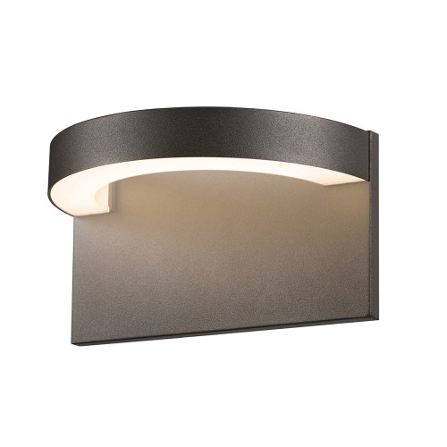 Shown in Textured Bronze with Frosted Shade