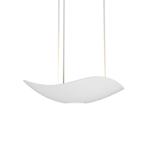 Shown in Satin White with Satin White Die Cast Aluminum Shade
