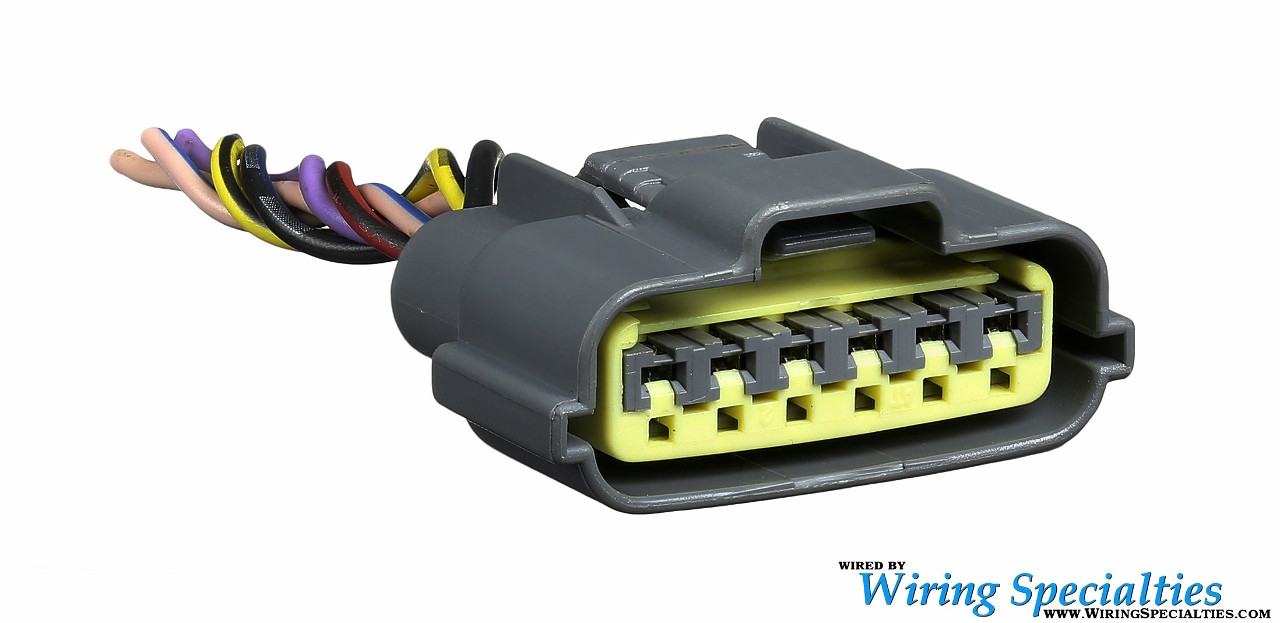 S14 KA24DE Distributor 6-pin Connector | Wiring Specialties ka24de distributor timing marks Wiring Specialties