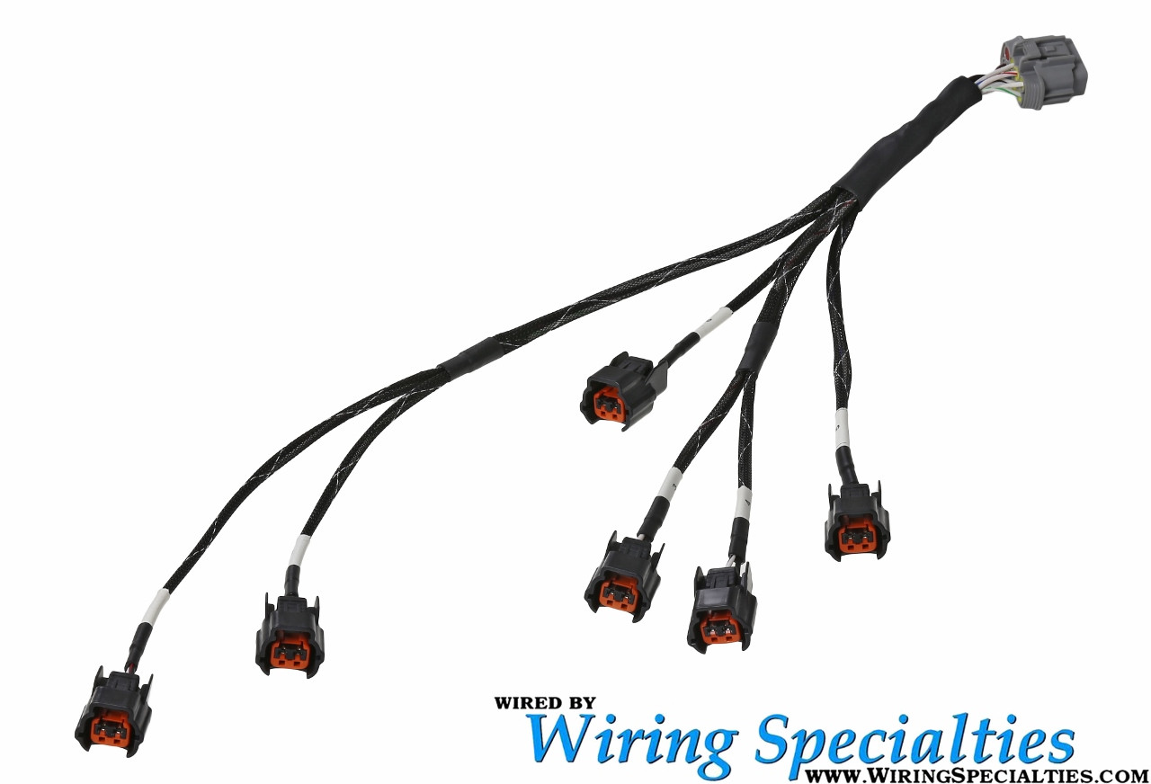 Z32 VG30DE(TT) New Style Injector Sub-Harness (Oval w