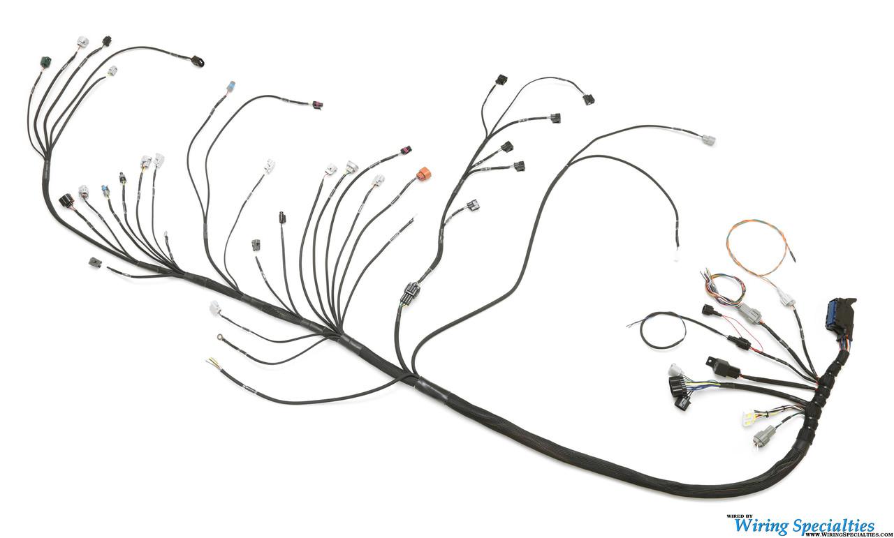 s14 240sx 2jzgte swap wiring harness