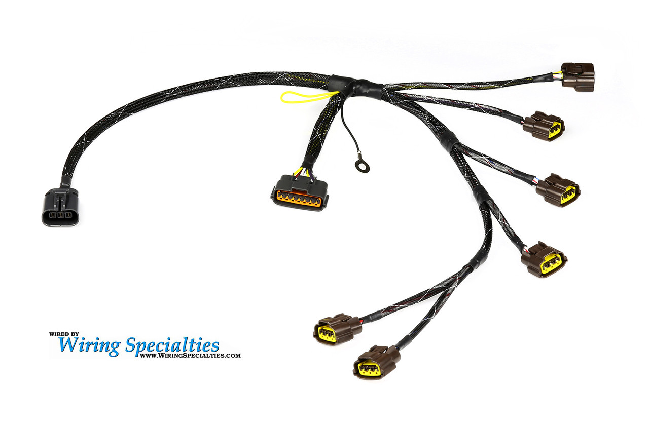 [SCHEMATICS_4PO]  240sx S13 RB20DET Engine Harness | Wiring Specialties | Nissan 240sx S14 Rb20det Transmission Harness Wiring Specialties |  | Wiring Specialties