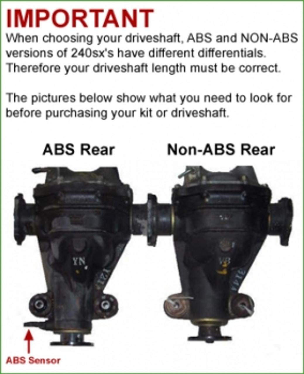 High Pressure Braided Power Steering Line for 1989-1994 Nissan 240SX SR20DET S13