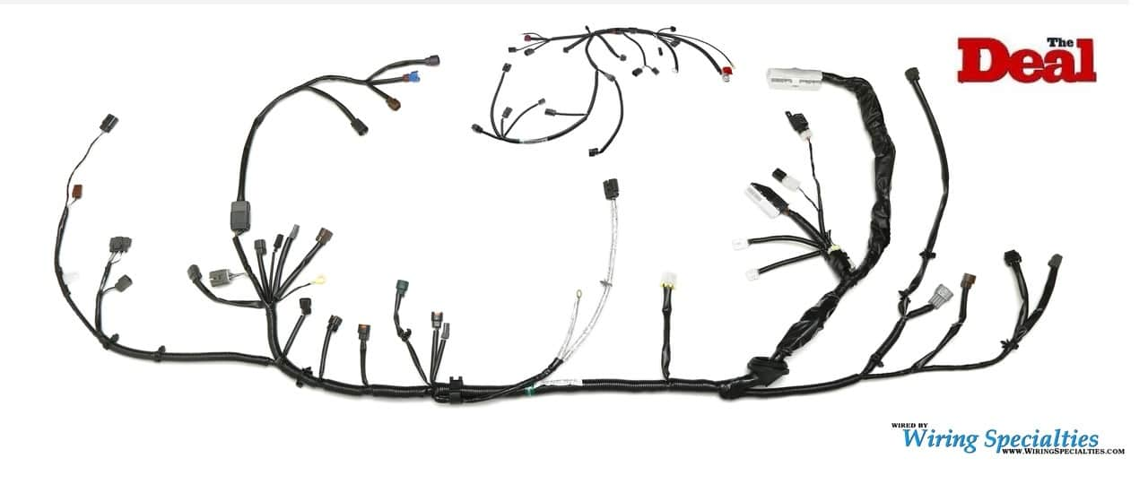 240sx S14 Wiring Harness | KA24DE Wiring Harness | Wiring SpecialtiesWiring Specialties