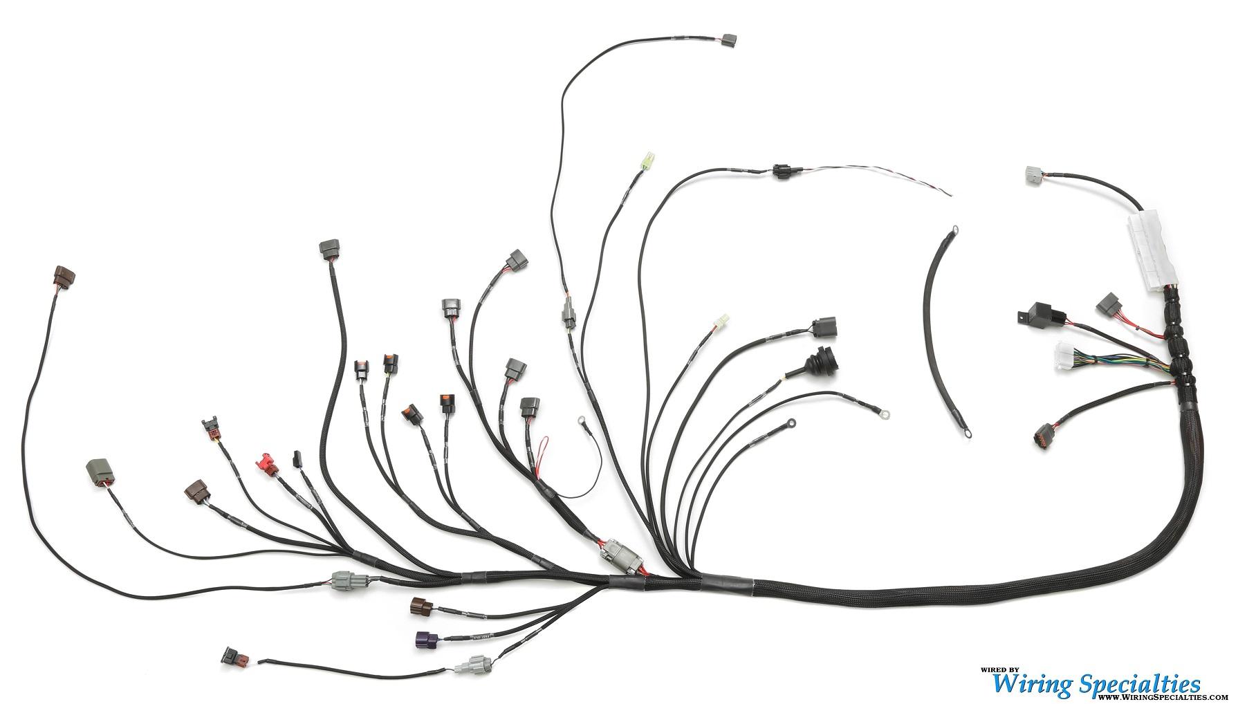350z S13 Sr20det Swap Wiring Harness Wiring Specialties