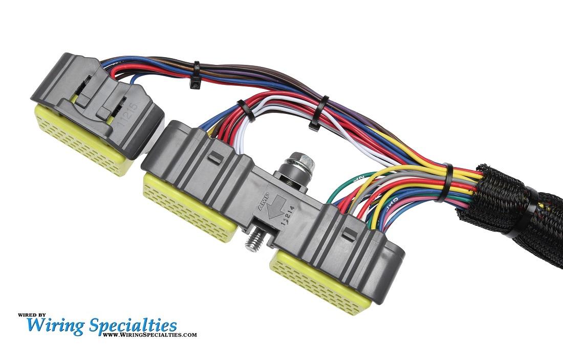 harness wiring standalone 2jzgte