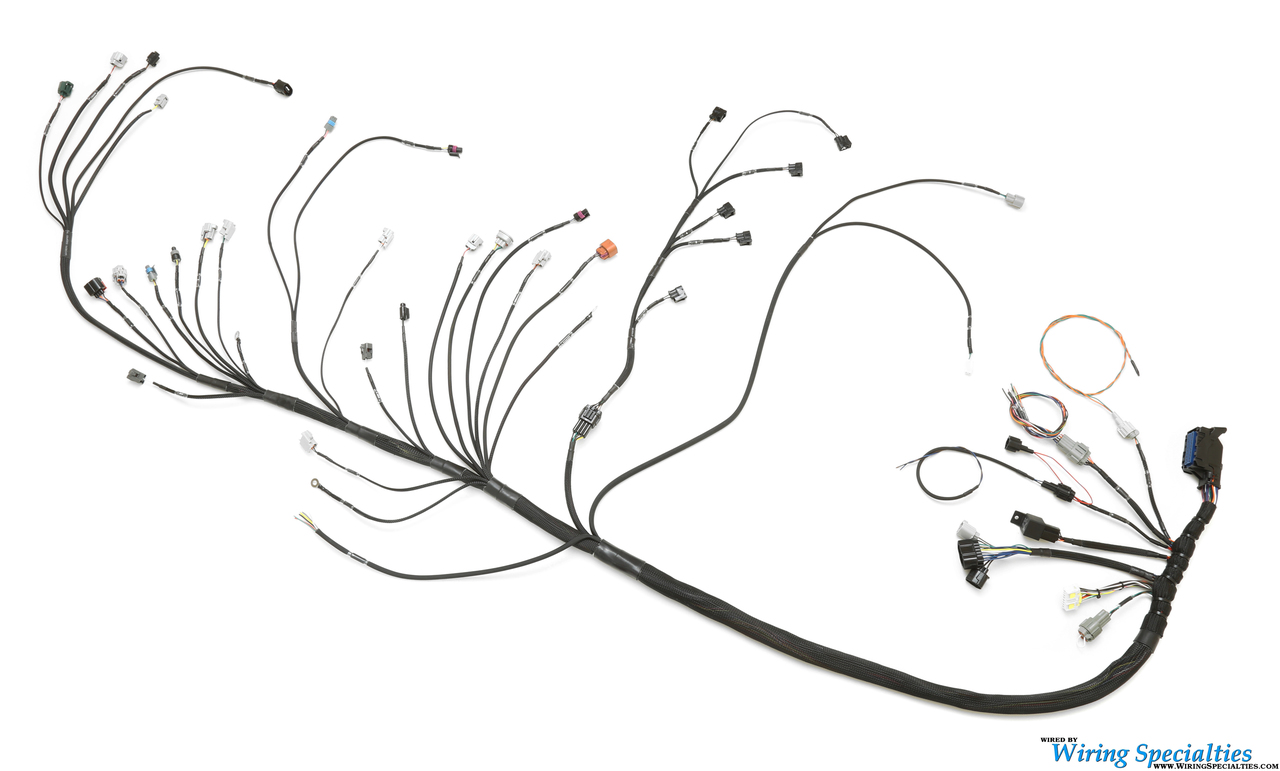 s13 240sx 2jzgte swap wiring harness
