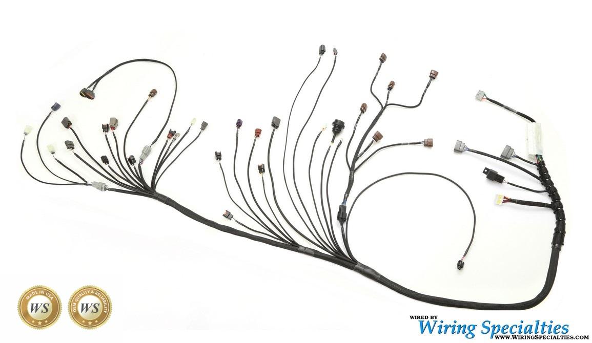 [DIAGRAM_3NM]  Datsun 240z RB25DET Swap Wiring Harness | Wiring Specialties | 240z Wiring Harness |  | Wiring Specialties