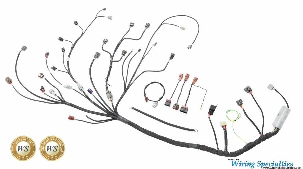 [DIAGRAM_5UK]  Datsun 240Z S14 SR20DET Swap Wiring Harness | Wiring Specialties | 240z Wiring Harness |  | Wiring Specialties