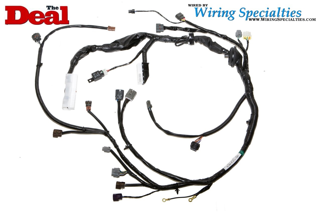 nissan 240sx s14 sr20det transmission harness wiring  nissan 240sx s14 sr20det transmission harness wiring specialties #5