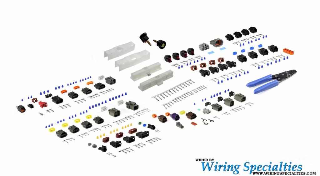S13 KA24DE Harness Repair Kit | Wiring SpecialtiesWiring Specialties