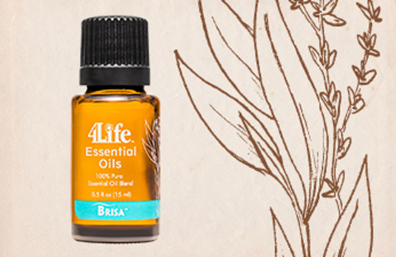 Brisa combines the power of eucalyptus, peppermint, clove, thyme, frankincense, and camphor white essential oils.