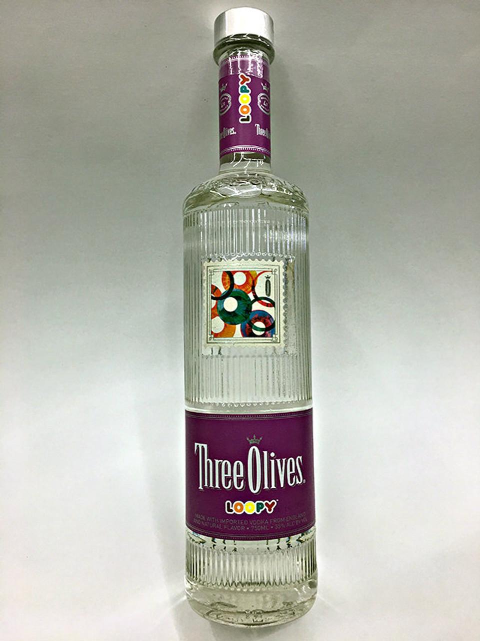 Three Olives Loopy Vodka 750ml