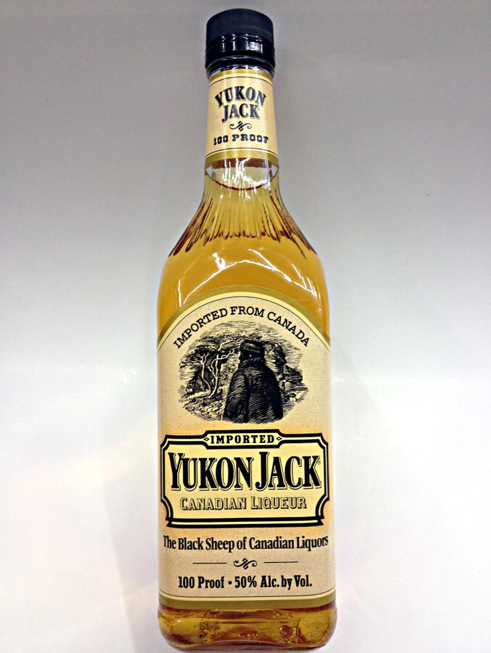 Yukon Jack Canadian Whisky Buy Liqueur Online Quality Liquor Store