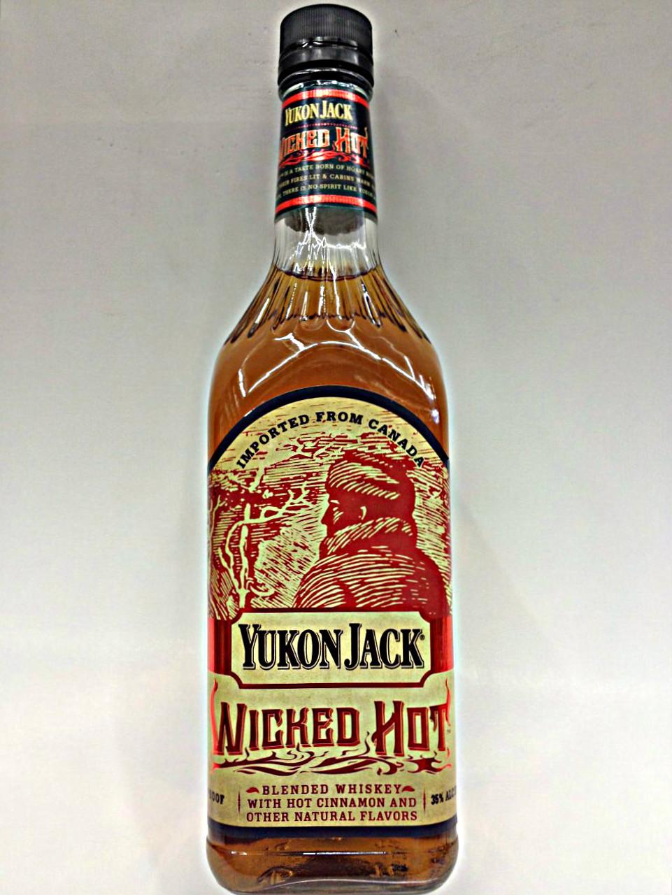 Yukon Jack Wicked Hot Spiced Whiskey Quality Liquor Store