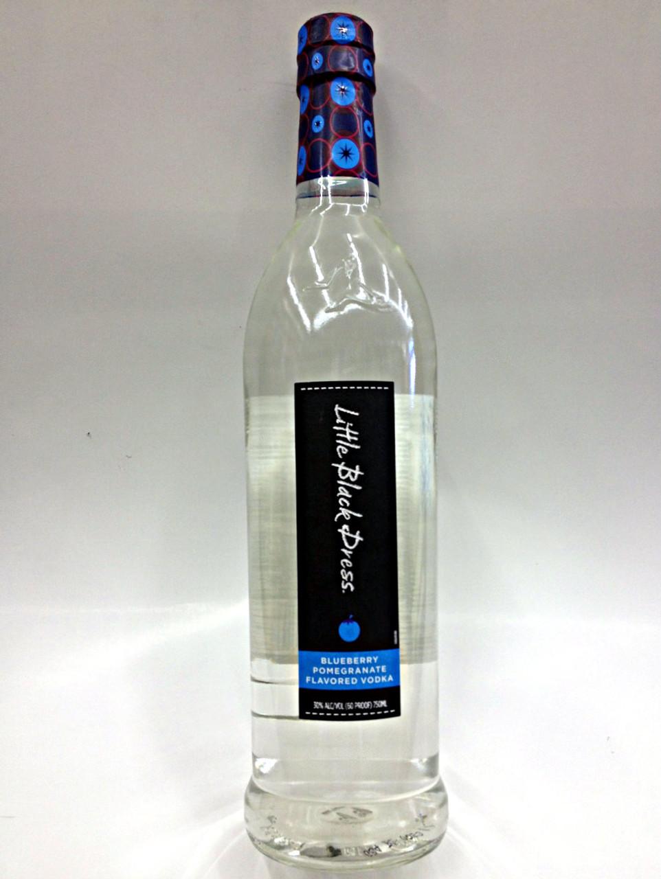 Little Black Dress Blueberry Pomegranate Flavored Vodka