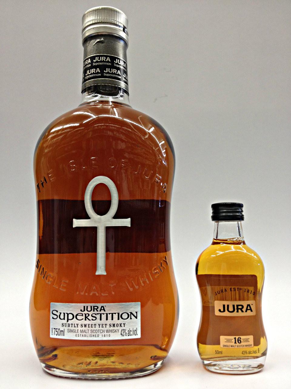 Isle Of Jura Superstition Scotch w/16 Year 50ml