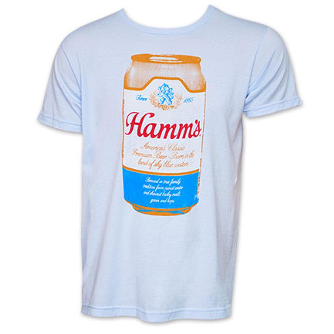Hamm/'s Vintage Logo Navy Mens Tank Top Blue