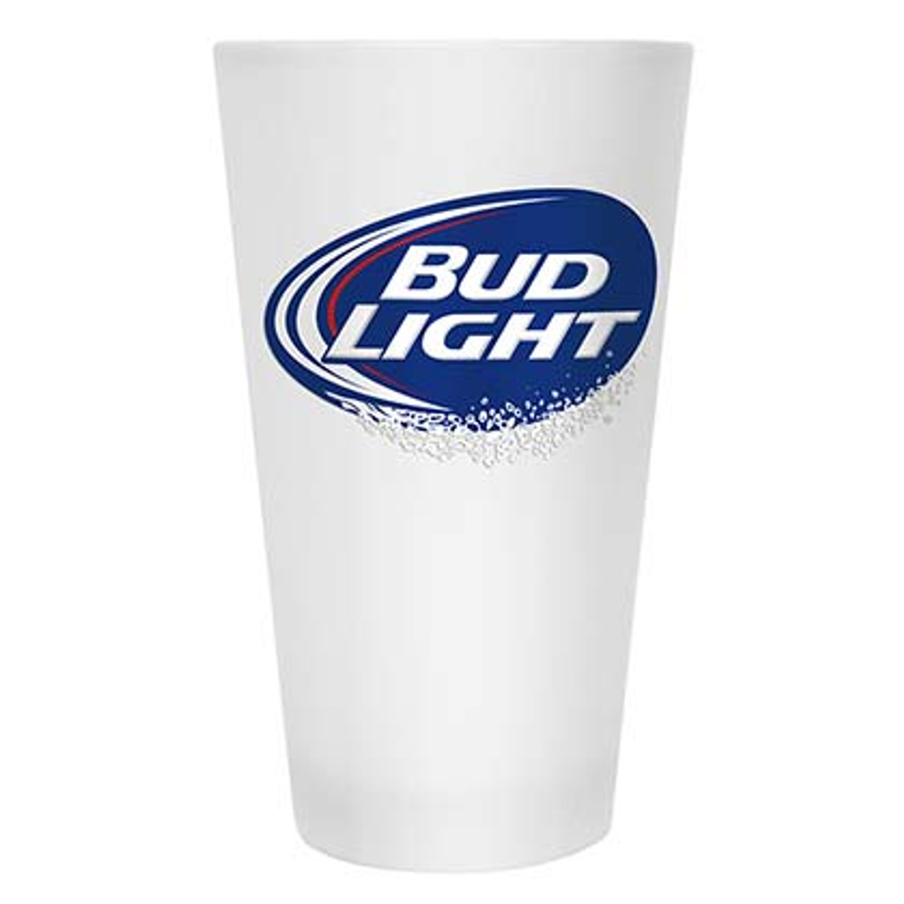 Budweiser Frosted Glass