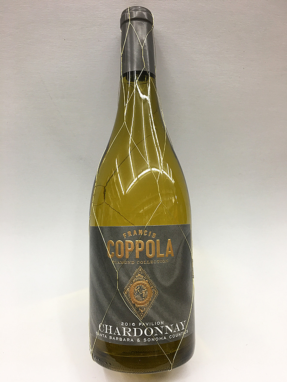 It's just a picture of Divine Francis Coppola Gold Label Chardonnay