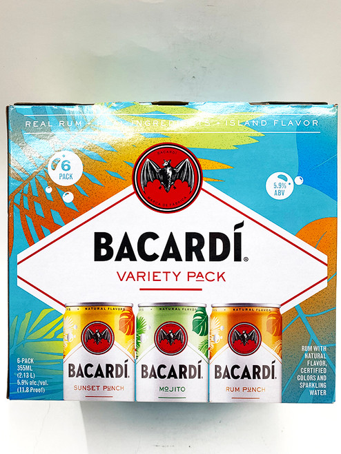 Bacardi Variety Pack Can 6-Pack