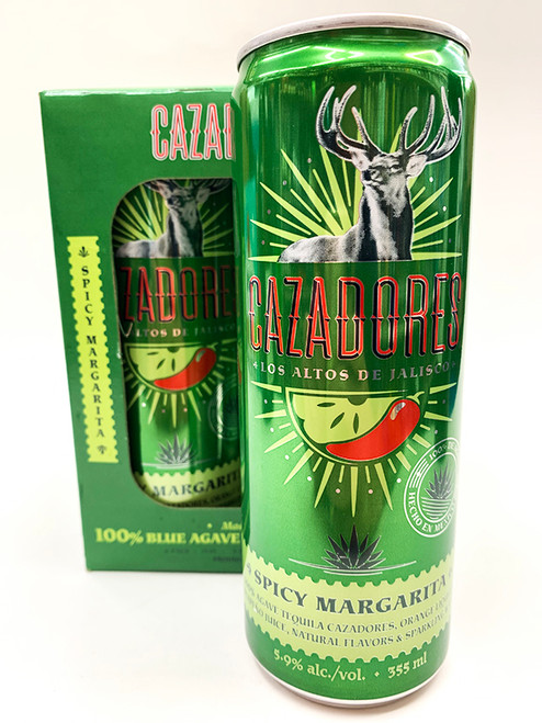 Cazadores Spicy Margarita Can 4-Pack
