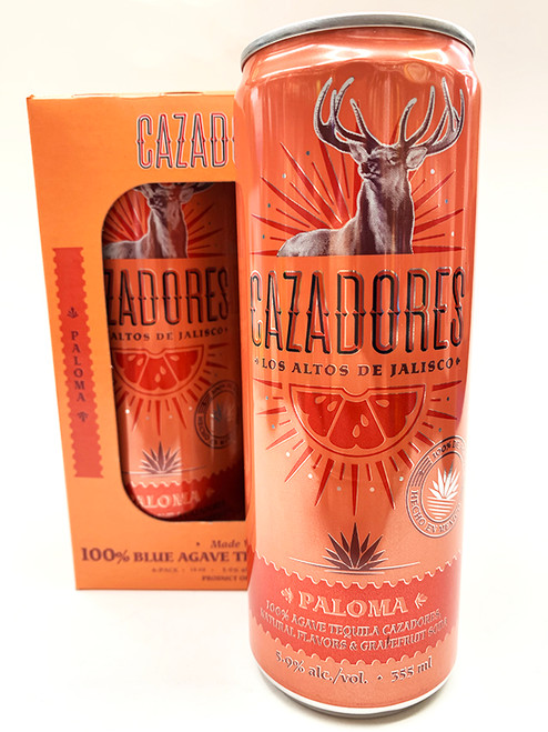 Cazadores Paloma Can 4-Pack