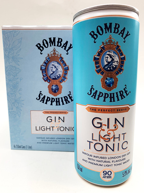 Bombay Gin & Tonic Light Can 4-Pack