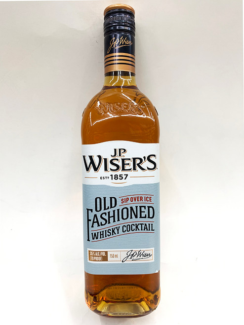 JP Wiser's Old Fashioned Whisky Cocktail