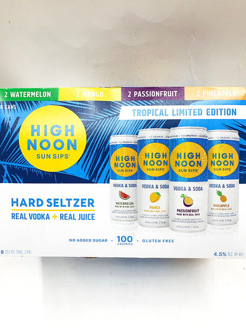 High Noon Hard Seltzer Tropical Variety Pack