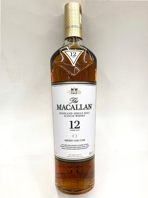 Macallan 12 Year Sherry Oak Cask
