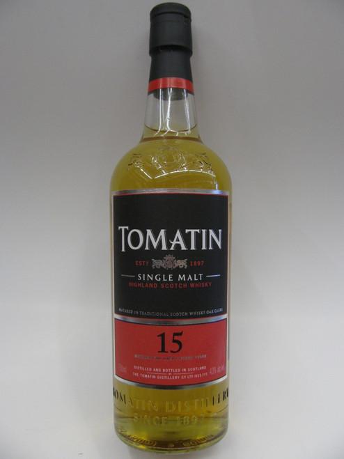 Tomatin 15yr Single Malt