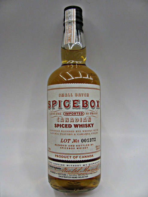 SpiceBox Spiced Canadian Whisky (Old Image)