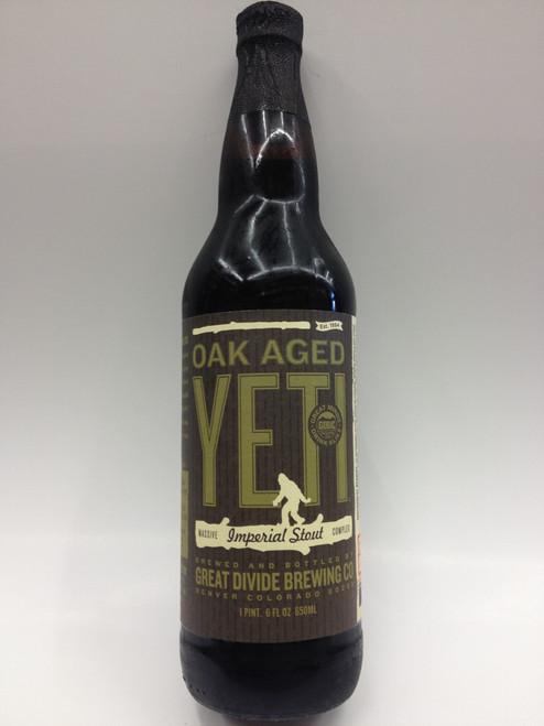 Great Divide Oak Aged Yeti Imperial Stout New Image
