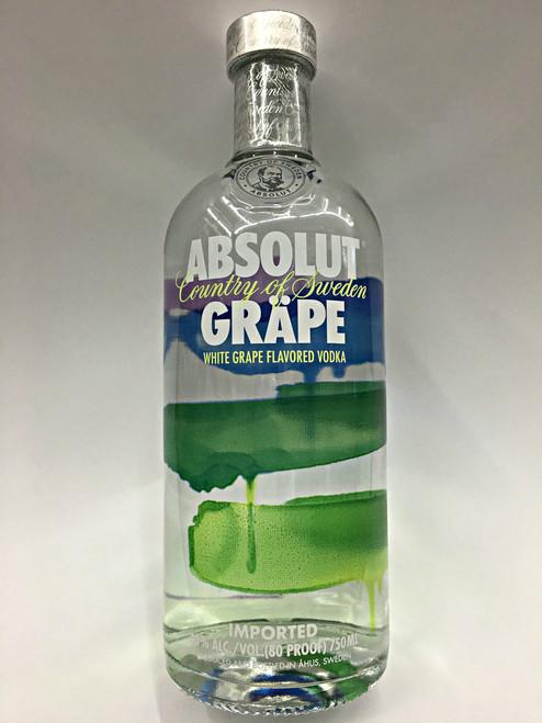 Absolut Grape Vodka